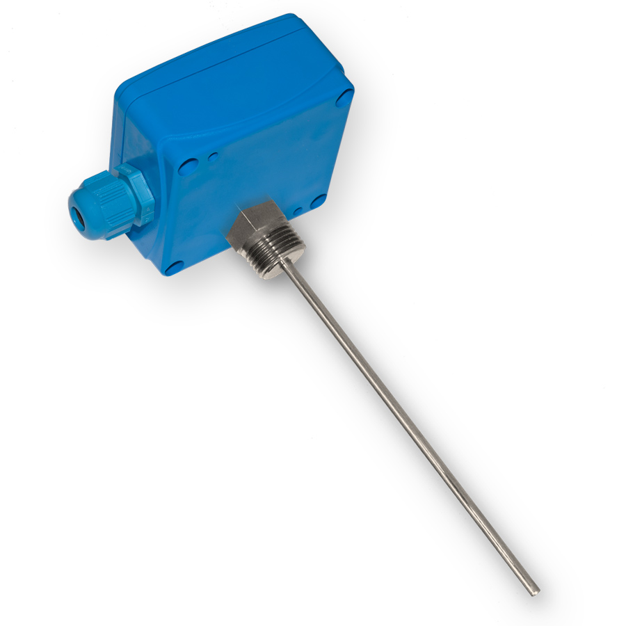 Quick-action temperature sensors