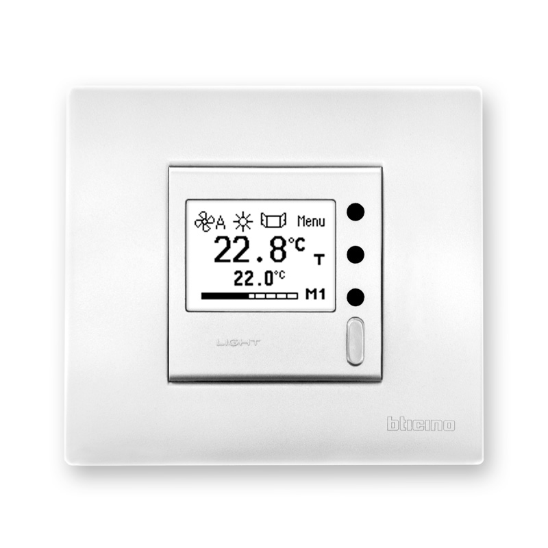 On wall controllers with graphic display - type NTM1U