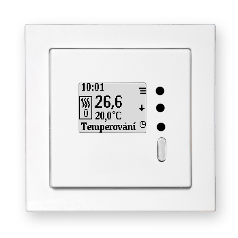 Programmable weekly thermostat