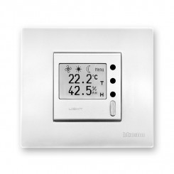 On wall controllers with graphic display - type HTM1U