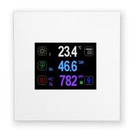 Nástěnný ovladač s dotykovým displejem - typ RK-CHM-D