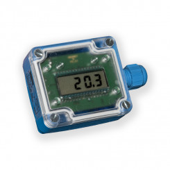 Temperature sensors with display
