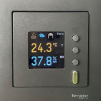 Barevný LCD panel integrovaný do Loxone
