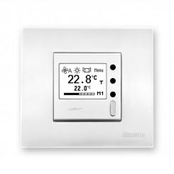 Nástěnné ovladače s monochromatickým displejem k měření teploty